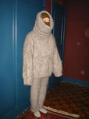 Mohair (facecover) Tags: sweater mask mohair