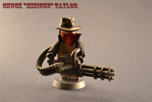 Custom minifig Chuck  Minigun Taylor3