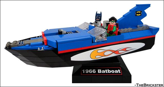 Retro 1966 LEGO Batboat 3