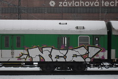 nee (paintedstreetz) Tags: train silver panel chrome nee 2011