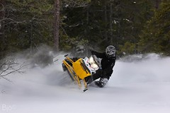 (Gruvtroll) Tags: winter snow forest sweden snowmobile