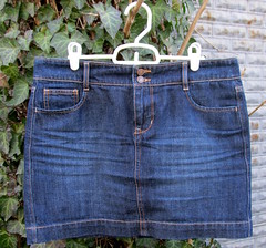 7 denim skirt