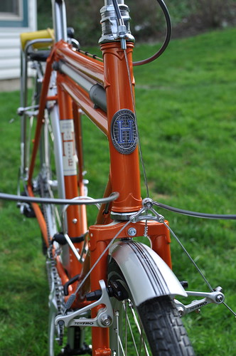 Lovely Bike, close-up