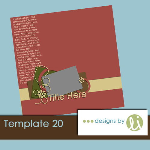 Template 20 preview