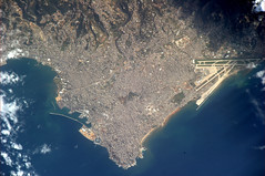 The Switzerland of the Middle East. Which capital city? (astro_paolo) Tags: lebanon nasa beirut iss esa internationalspacestation earthfromspace europeanspaceagency expedition26 magisstra