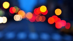 Pennslyvania Avenue (DavidGuthrie) Tags: light abstract blur art lights nikon bokeh tails traffice nigh davidguthrie d3000