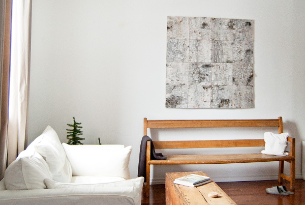 Birch Bark Wall Art