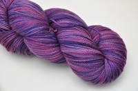"""Sugar Plum"" on Aurora luxury fingering *Sale*"
