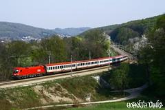 1116 134-6, 12.04.2009, Unter-Oberndorf (mienkfotikjofotik) Tags: eisenbahn railway taurus bahn bb kolej 1116 sterreichische vast es64u2 bundesbahnen bb
