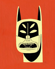 Nightmare Batman (Jack Teagle) Tags: strange monster blood mask head vampire teeth floating batman horror terror beast nightmare fangs crazed 4eyes