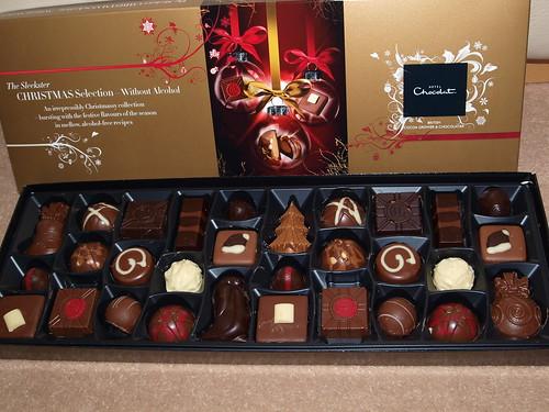 Christmas Sleekster Hotel Chocolat