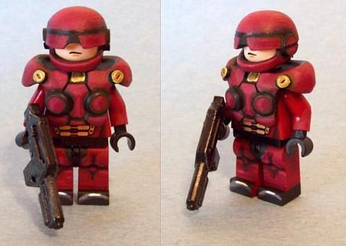 Custom minifig Advanced SAR Trooper