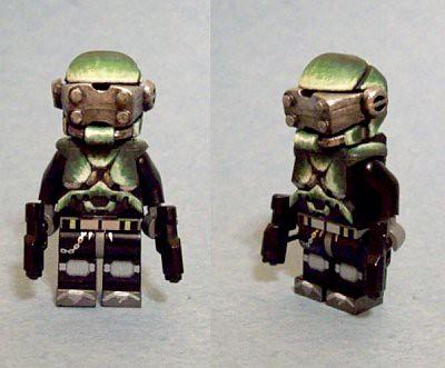 Custom minifig Spaceman custom minifig