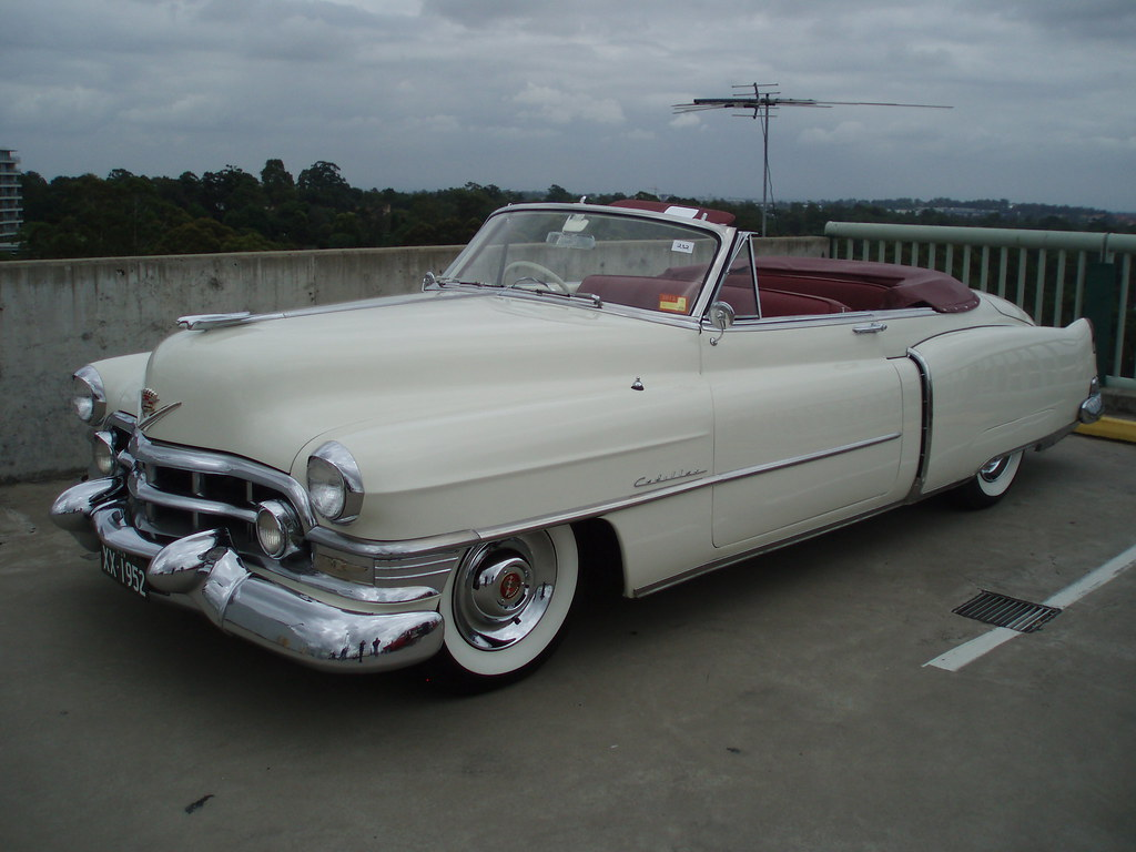 1952 Cadillac Series 62 convertible by sv1ambo, on Flickr