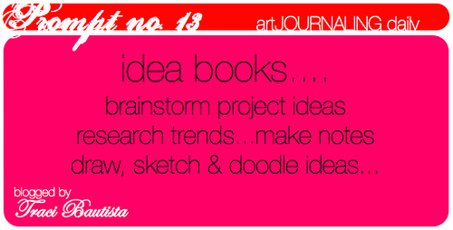 artJOURNALING daily prompt no. 13