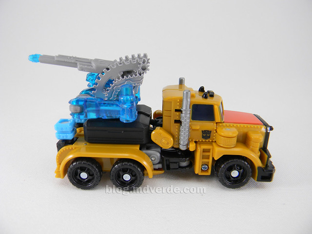 Transformers Huffer Power Core Combiners - modo alterno
