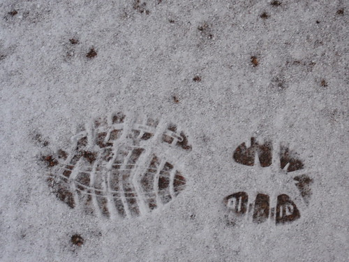 My Footprint in Snow