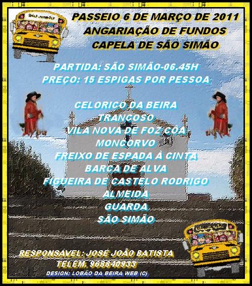 EXCURSÃO 2011-SÃO SIMÃO
