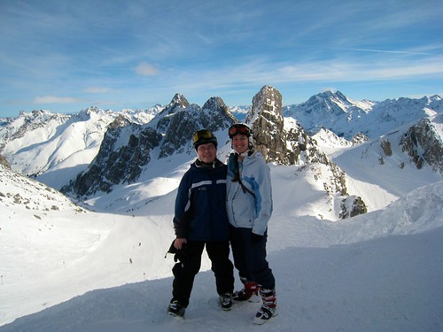 Skiing in Austria (St Anton Edition)