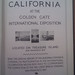 California at the Golden Gate International Exposition