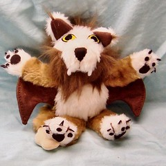 Plush World of Warcraft Wind Rider Cub (Creative Critters) Tags: wow worldofwarcraft windrider companionpet creativecritters handmadeartfirecreativecritters windridercub wowplushie plushwindrider