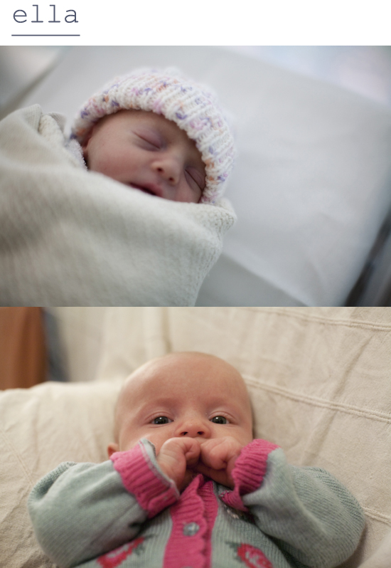 ella, then & now