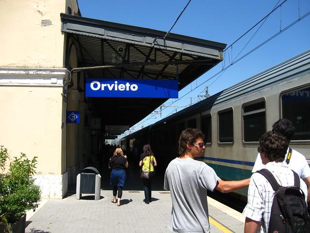オルヴィエート駅のフリー写真素材