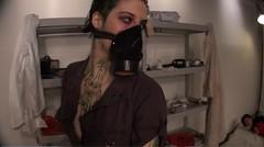 Haven't Forgotten About You (noirgirls) Tags: fetish video noir heroine horror gasmask distress peril damsel ryona tobatsu