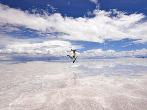 Nice pose on the salt flats.