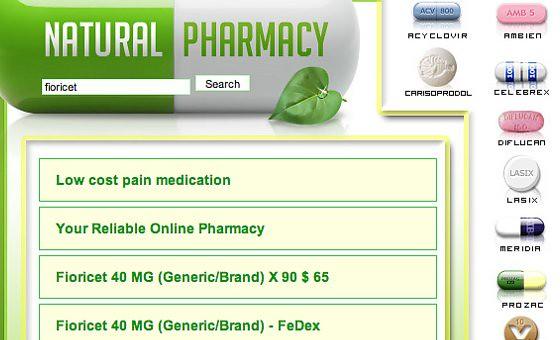 Abandoned government Website hawks drugs