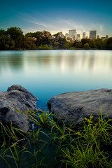 Central Park (Burton Dwight) Tags: longexposure blue sunset lake afternoon centralpark nd110 bwnd
