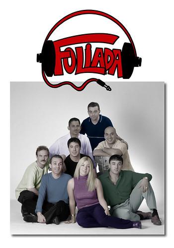 Foliada 2000 - orquesta - cartel