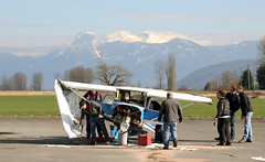 42 (pascalmarch) Tags: plane airplane dead death bc crash accident police ambulance valley cop mission rcmp emergency propeller bi charge firefighters fatal abbotsford chilliwack cesna medics raser collsion