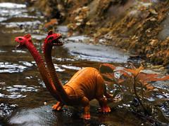Dragon (A_Polemann) Tags: toy dragon dos mueco cabezas twoheads juguete