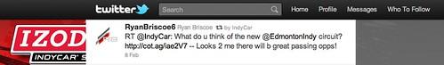 Ryan Briscoe on Twitter