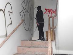 (Pastor Jim Jones) Tags: abandoned graffiti stairway hb zany cloe lcm esd plce