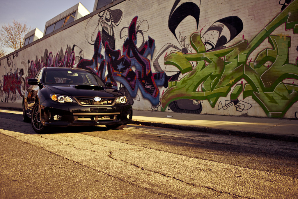 Impreza WRX STI + Graffiti