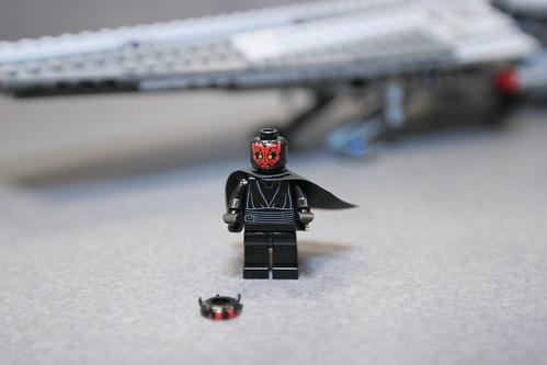 Custom minifig Darth Maul lego minifgure