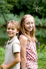 Back to back fun (Kidzmom2009) Tags: park family flowers summer portrait lake france sunshine smiling kids fun outdoors happy blueeyes lifestyle blonde brotherandsister leaning backtoback funinthesun girlandboy lifestylephotography siblingstogether casualportrait wildflowerfield europeanparks gettyimageswant kidzmom2009 gettyimageswants gettywants familygetty2010 kfsphotography familygetty2011