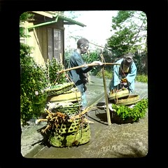 A Seller Of Vegetables (josefnovak33) Tags: japan vegetable lantern seller slidr