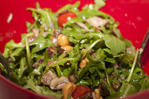 warm steak salad 007