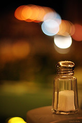 Salty Bokeh (nina's clicks) Tags: bokeh salt saltshaker salty salero hbw