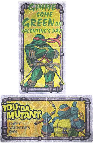 """PAPER MAGIC GROUP :: """"Teenage Mutant Ninja Turtles"""" - Valentines iv (( 2004 ))"""