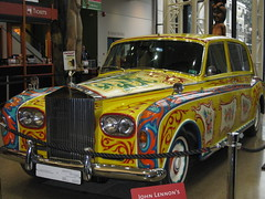 RR for a Beatle (jamica1) Tags: canada car museum john automobile bc royal rr rollsroyce columbia limo beatles british rolls psychedelic lennon royce