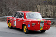 "LANCIA  FULVIA 2C  year 1965 "" 13 Snow Trophy "" (marvin 345) Tags: auto old italy classic cars car vintage italia rally voiture historic oldtimer epoca vecchia vecchie storiche mezzano lanciafulvia snowtrophy lanciafulvia2c"