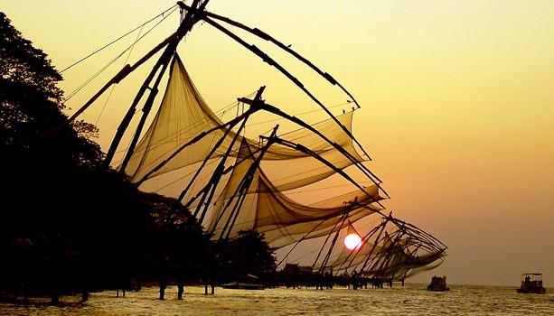 01 The port city of Kochi, India