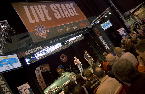 The Live Stage hosts cars, rebuilds and FUN!
