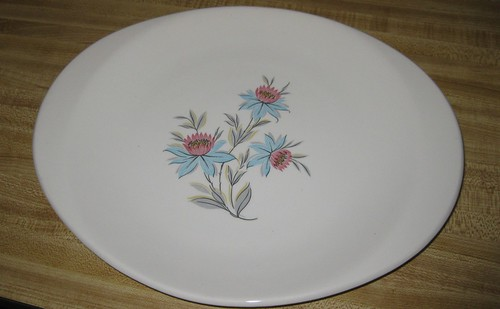 Steubenville Pottery Co. Fairlane pattern small platter