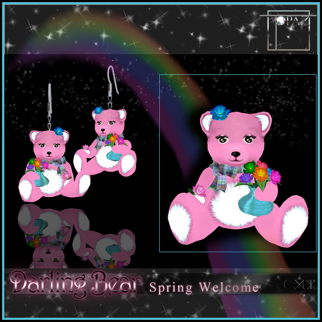 T-SQ~darling Bear Spring Welcome