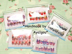 Light packaging (aya1gou) Tags: pink japan 3d nails lolita kawaii etsy decora unhas gyaru ongles ネイルアート uvgel japanesemanicure holidaynailart  ネイルチップ